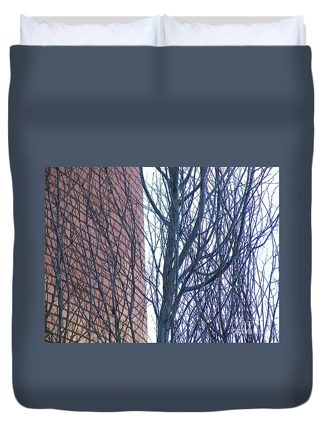 Regular Duvet Cover featuring the photograph Regular Irregularity by Brian Boyle