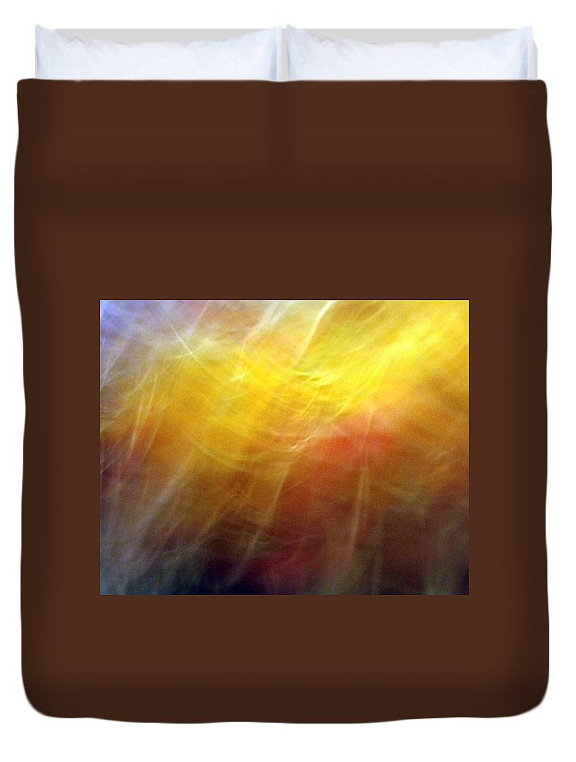 Rejoice Duvet Cover featuring the photograph Rejoicing Spirits by Munir Alawi