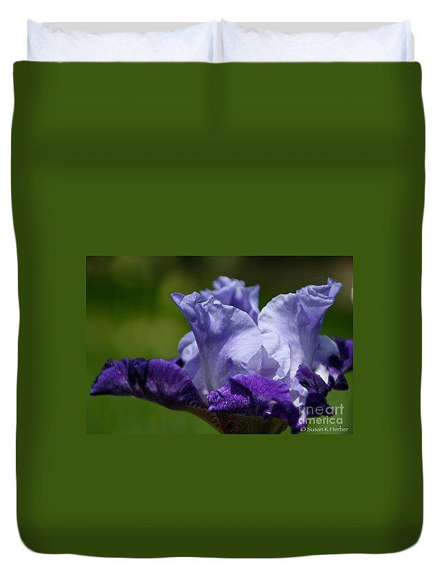 Flower Duvet Cover featuring the photograph Rejuvenation by Susan Herber