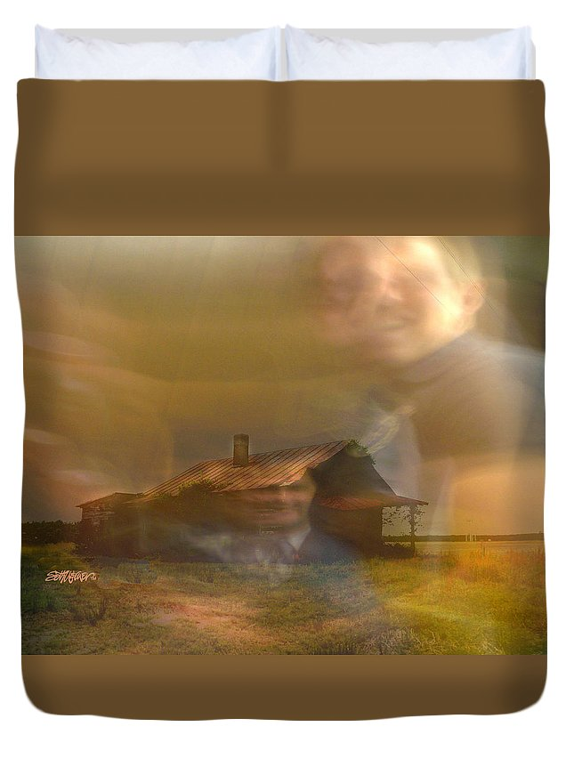 Remember Duvet Cover featuring the digital art Remember by Seth Weaver