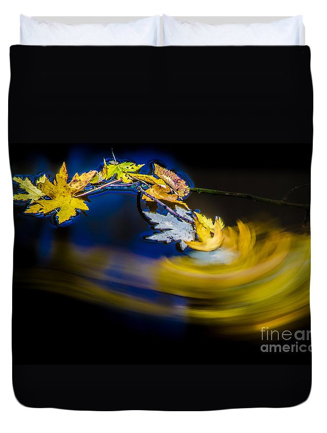 Defiance Duvet Cover featuring the photograph Resting Place by Michael Arend