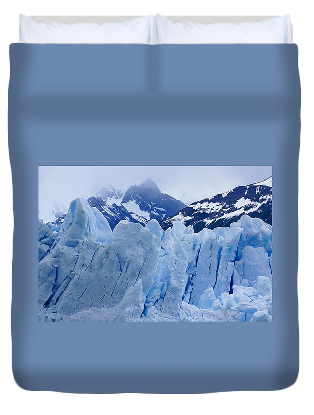 Argentina Duvet Cover featuring the photograph Rhapsody In Blue by Michele Burgess