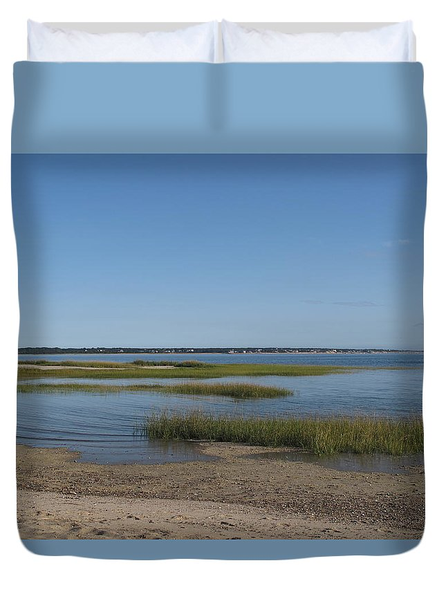 Sea Duvet Cover featuring the photograph Rising Tide by Barbara McDevitt