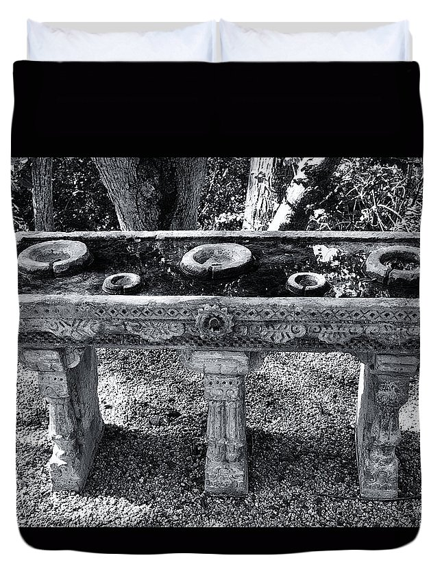 Ritual Duvet Cover featuring the photograph Ritual by Dominic Piperata