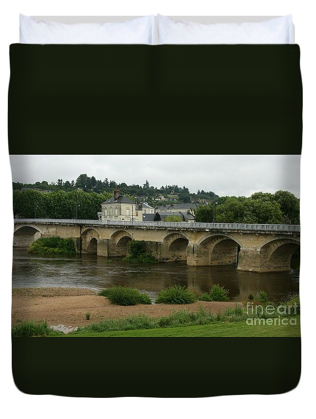 River Duvet Cover featuring the photograph River Vienne - France by Christiane Schulze Art And Photography