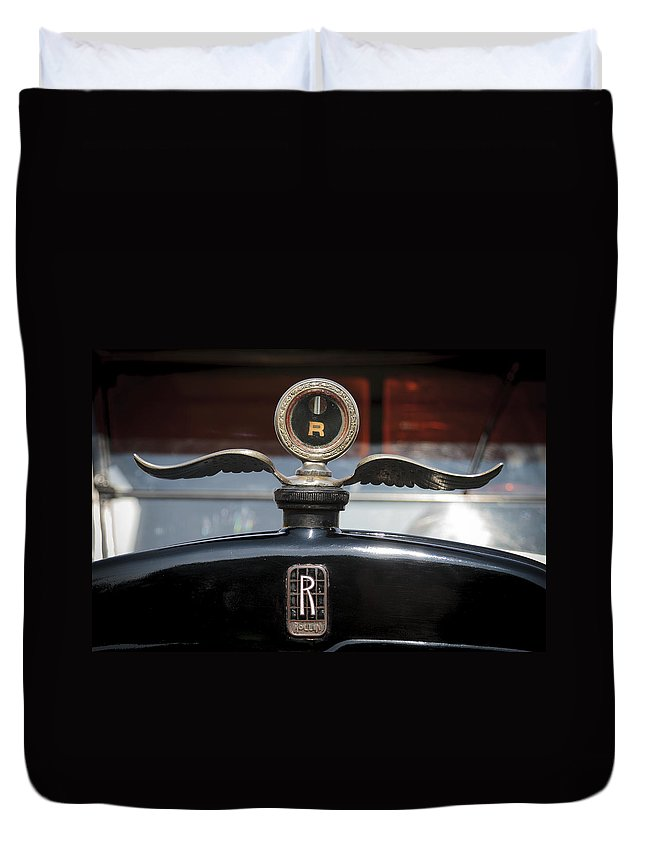 Glenmoor Duvet Cover featuring the photograph Rollin by Jack R Perry