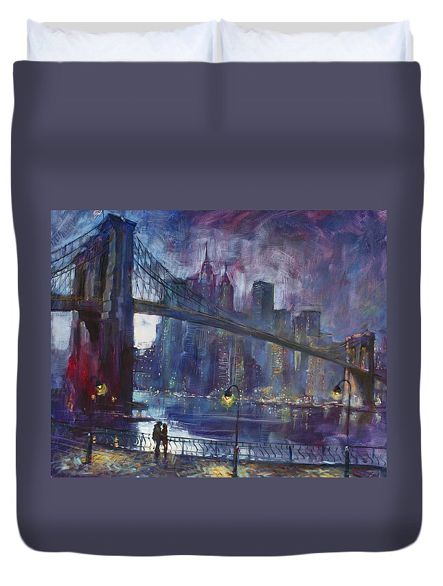 Brooklyn Bridge Duvet Covers