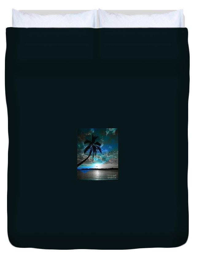 Digital Image Duvet Cover featuring the digital art Romance I by Yael VanGruber