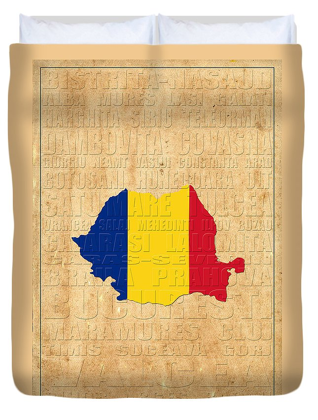 Romania Duvet Cover featuring the photograph Romania by Andrew Fare