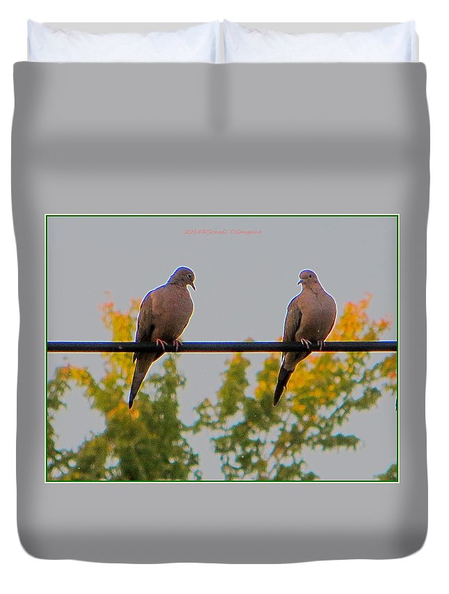 Desire Duvet Cover featuring the photograph Romantic Moments by Sonali Gangane