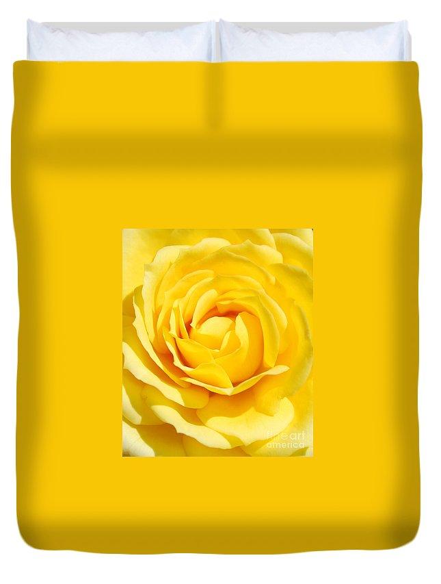Rose Duvet Cover featuring the photograph Rose by Luis Alvarenga