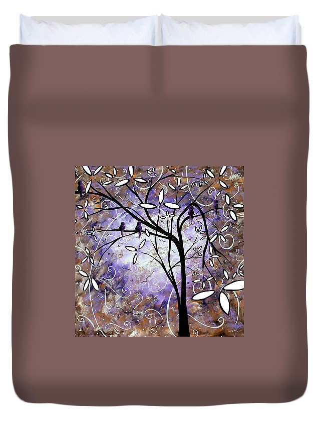 Wall Duvet Cover featuring the painting Royalty By Madart by Megan Duncanson