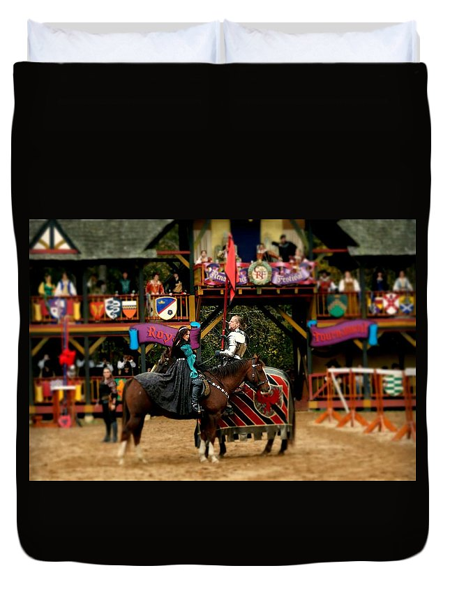 Fine Art Duvet Cover featuring the photograph Rules Of Engagement by Rodney Lee Williams