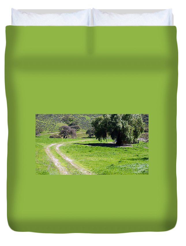 Rural Duvet Cover featuring the photograph Rural Countryside by Jeff Lowe