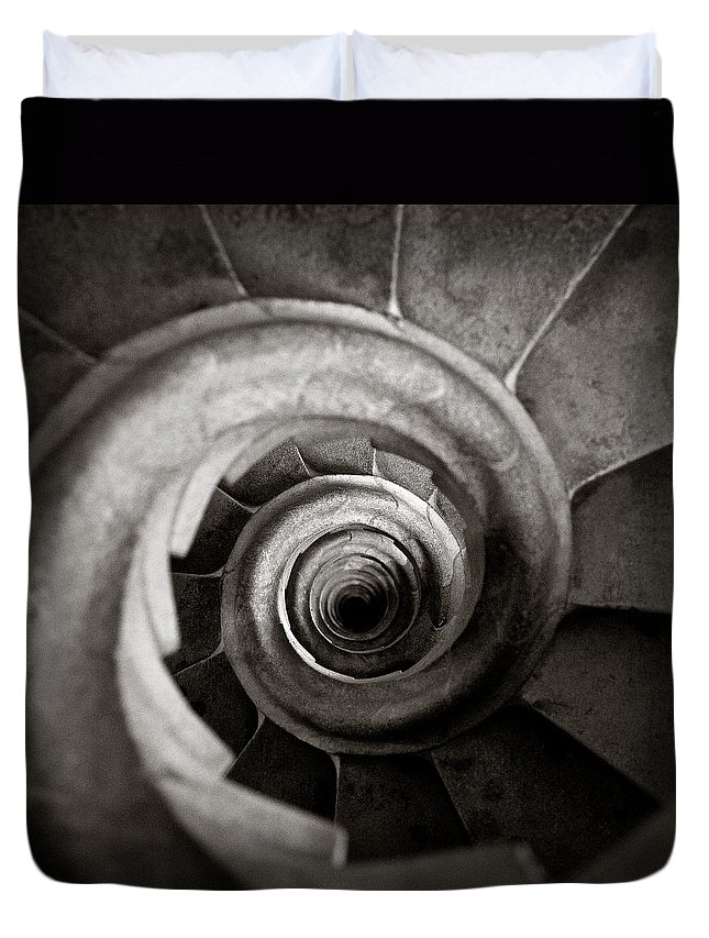 Spiral Staircase Photographs Duvet Covers