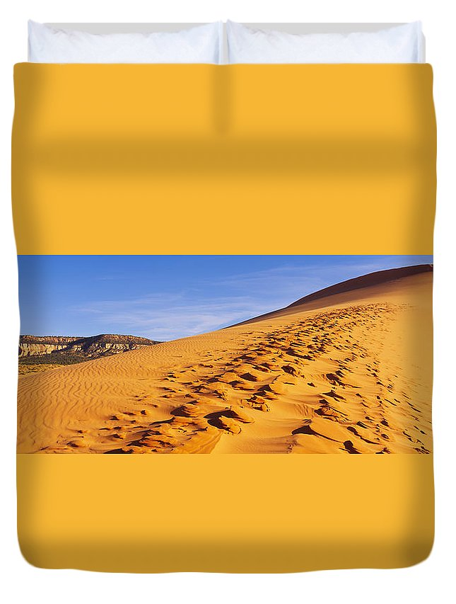 Coral Pink Sand Dunes State Park Photographs Duvet Covers