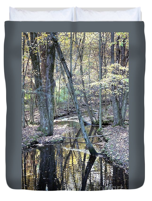 Water Duvet Cover featuring the photograph Serenity by David Murray