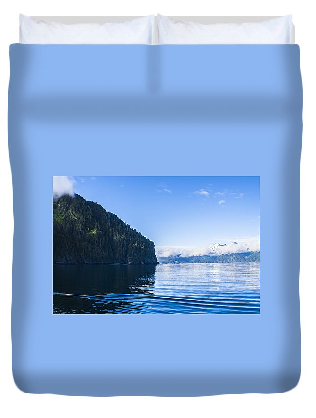 Kyle Lavey Photography Duvet Cover featuring the photograph Sunny Cove 2 by Kyle Lavey