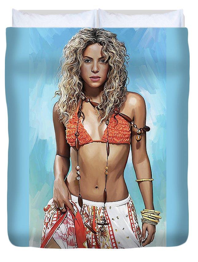 Shakira Duvet Covers