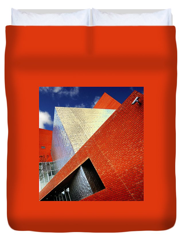 Architecture Duvet Cover featuring the photograph Sharps by Wayne Sherriff