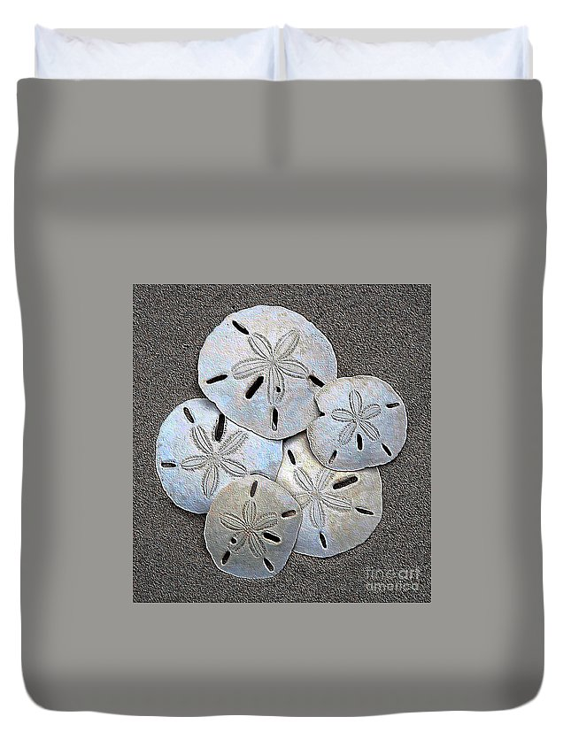 Sunrise Duvet Cover featuring the photograph Shell Effects 12 by Michael Anthony