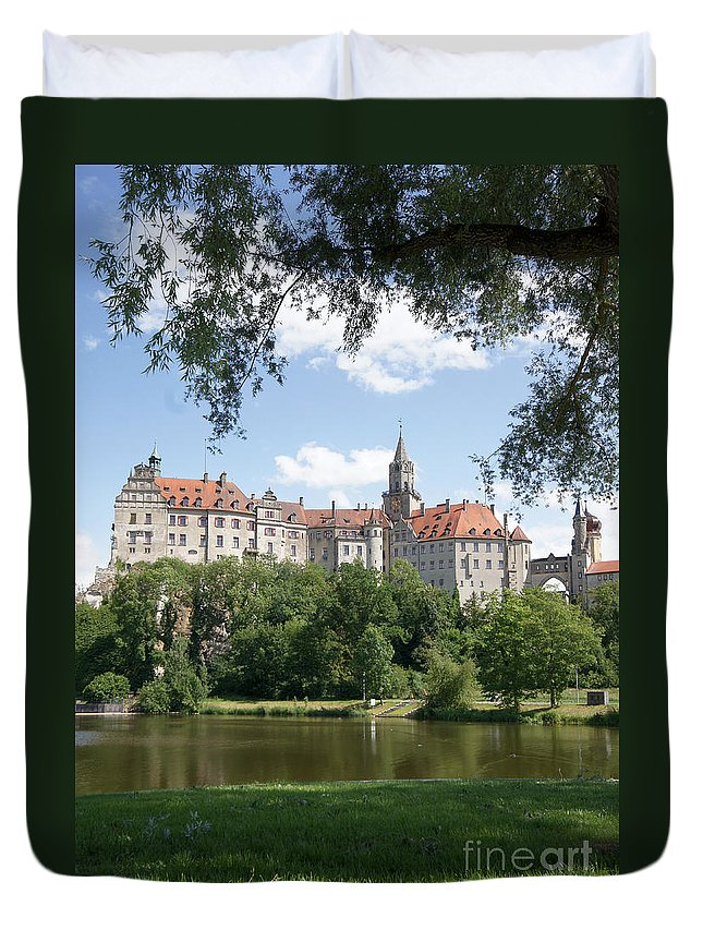 Germany Duvet Cover featuring the photograph Sigmaringen Castle 4 by Rudi Prott