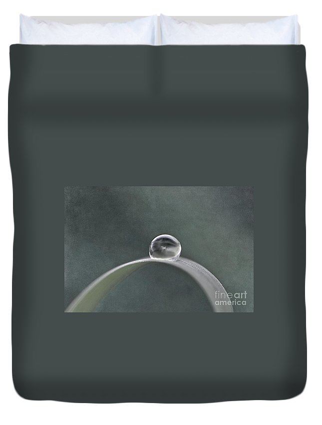 Drop Duvet Cover featuring the photograph Silent Whisper by Maria Ismanah Schulze-Vorberg