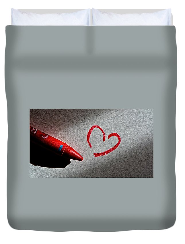 Love Duvet Cover featuring the photograph Simple Love by Bill Owen