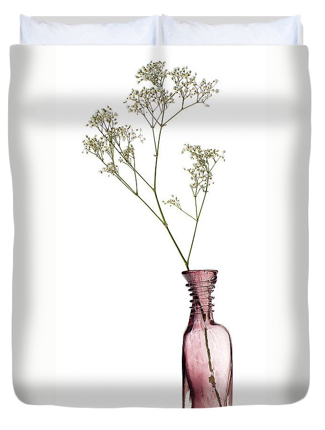 Still-life Duvet Cover featuring the photograph Simplicity by Dave Bowman