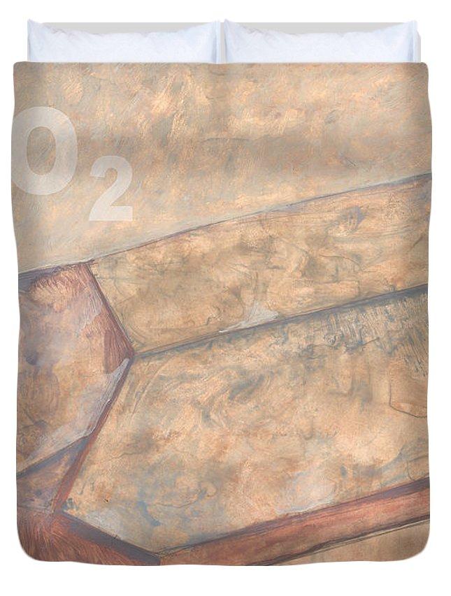 Sio2 Duvet Cover featuring the digital art Sioc2 by Richard Glen Smith