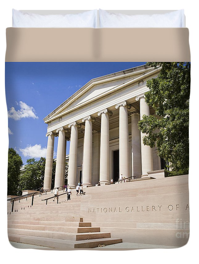 America Duvet Cover featuring the photograph Smithsonian National Gallery Of Art by B Christopher