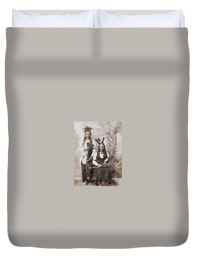 Snakes Enemy And Son Bears Entrails Duvet Cover featuring the digital art Snakes Enemy And Son Bears Entrails by Unknown