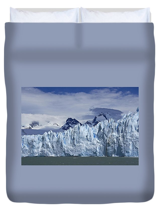 Argentina Duvet Cover featuring the photograph So Cold by Michele Burgess