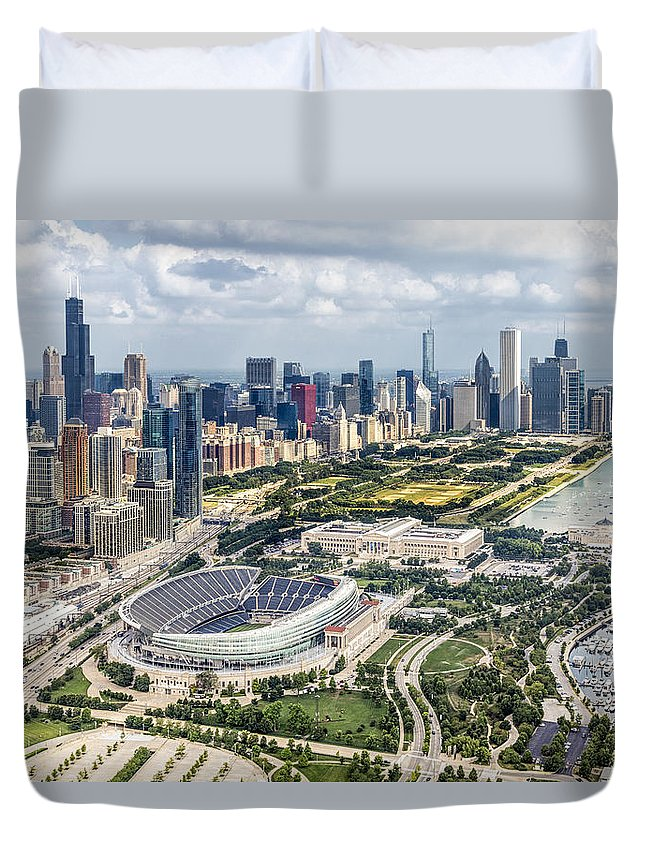 Soldier Field Duvet Covers