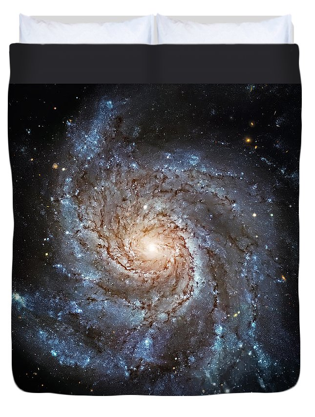 Universe Duvet Cover featuring the photograph Sparkle by Jennifer Rondinelli Reilly - Fine Art Photography