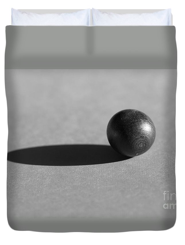 Ellipse Duvet Cover featuring the photograph Sphere by Kenny Glotfelty