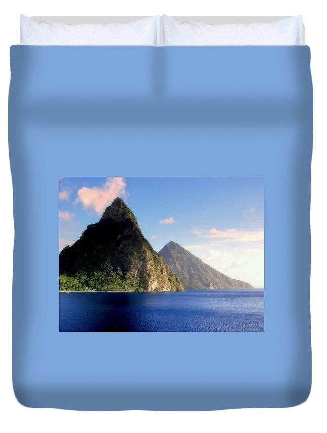 Pitons Duvet Covers