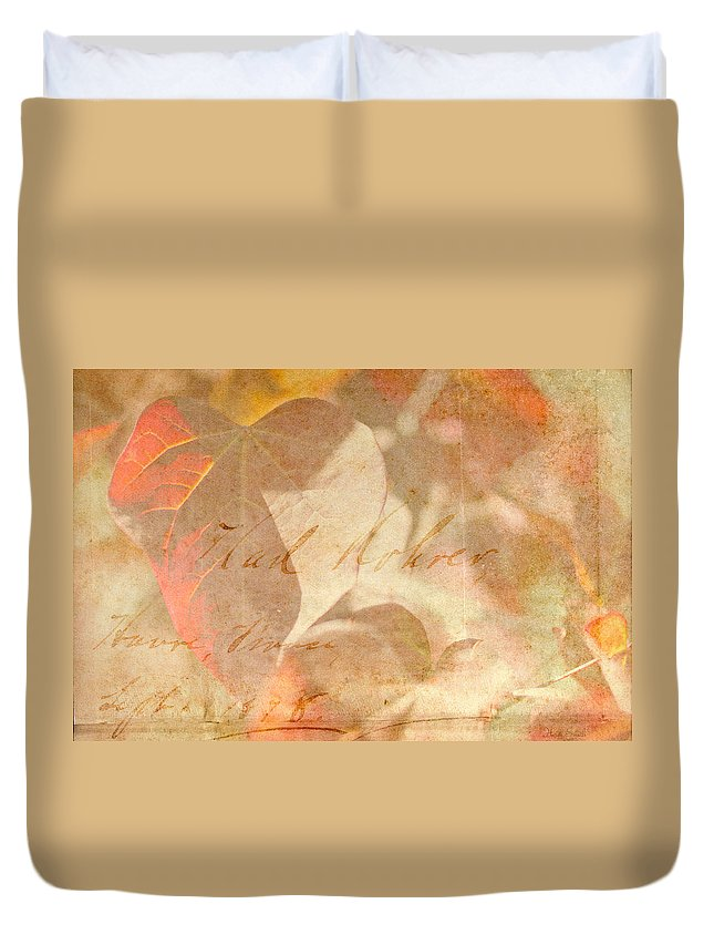 Duvet Cover featuring the photograph Spring Afternoon Sunlight by Heidi Smith