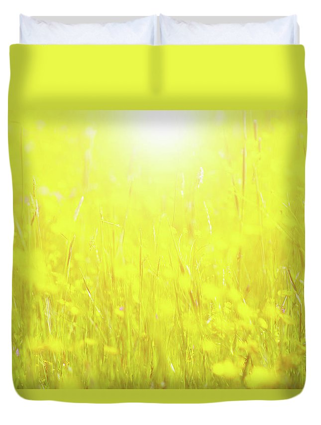 Tranquility Duvet Cover featuring the photograph Spring Growth by Rolfo Rolf Brenner