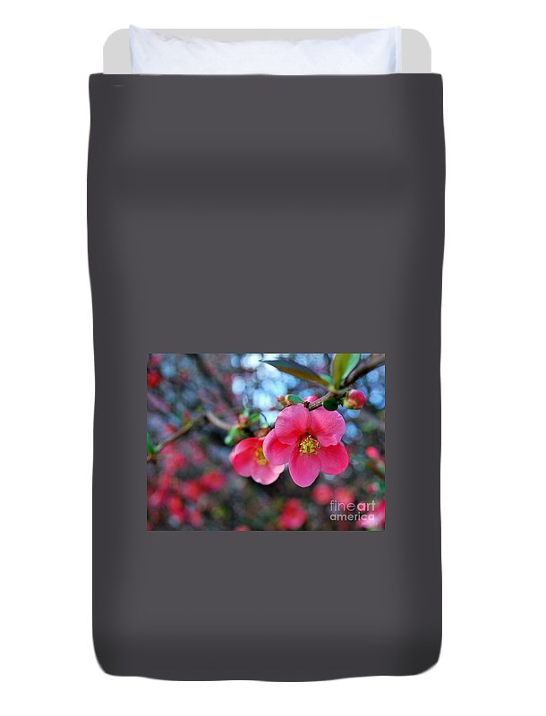 Nature Duvet Cover featuring the photograph Spring Passion by Marija Djedovic