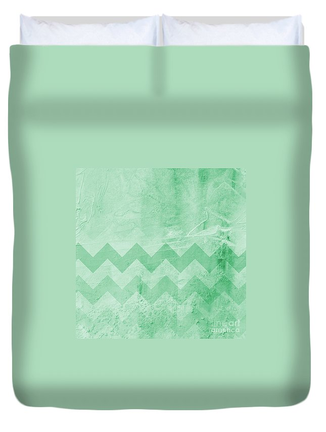Square Duvet Cover featuring the photograph Square Series - Marine 13 by Andrea Anderegg