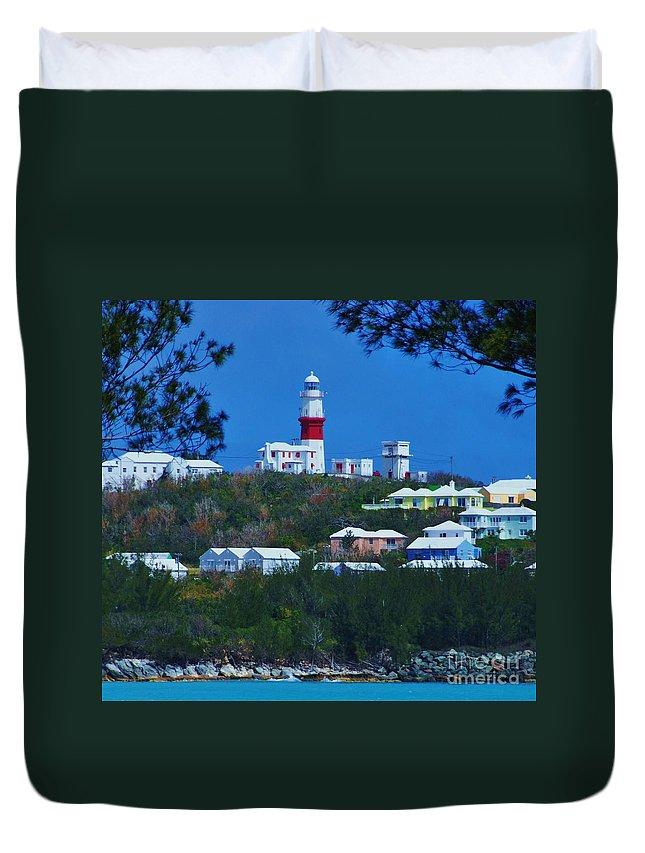 St David S Light Bermuda Duvet Cover
