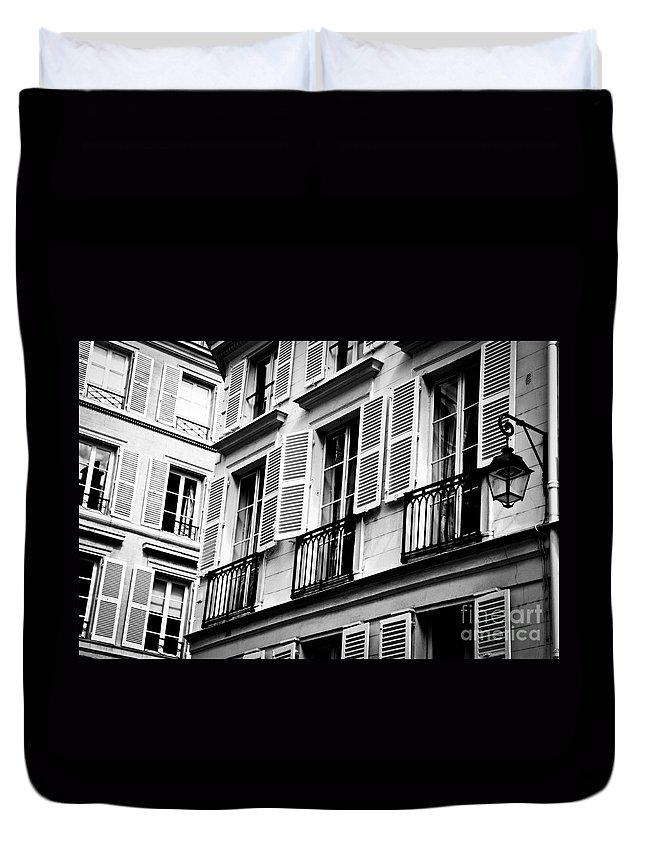 Europe Duvet Cover featuring the photograph St Germain Des Pres by Lana Enderle