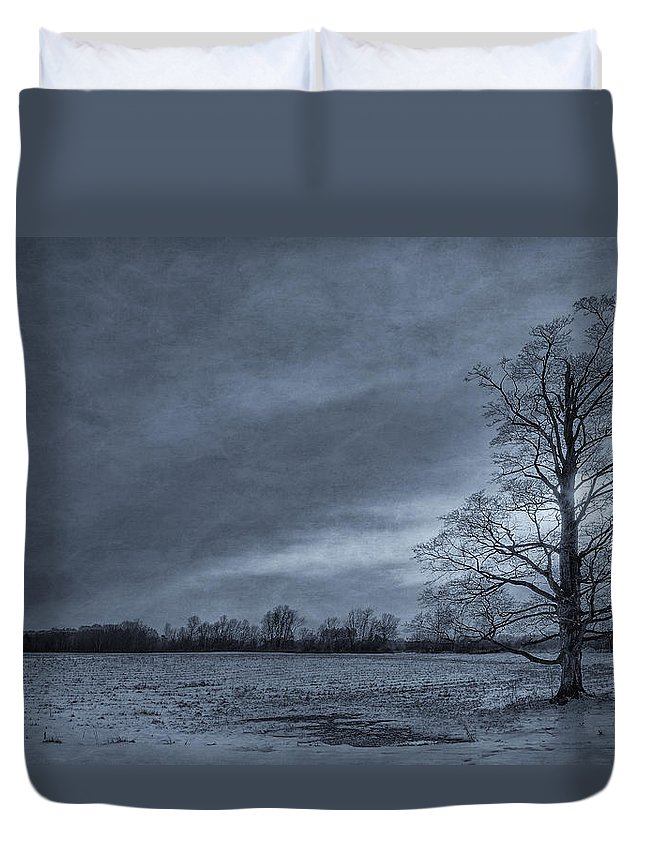 Tree Duvet Cover featuring the photograph Stand Tall by Everet Regal