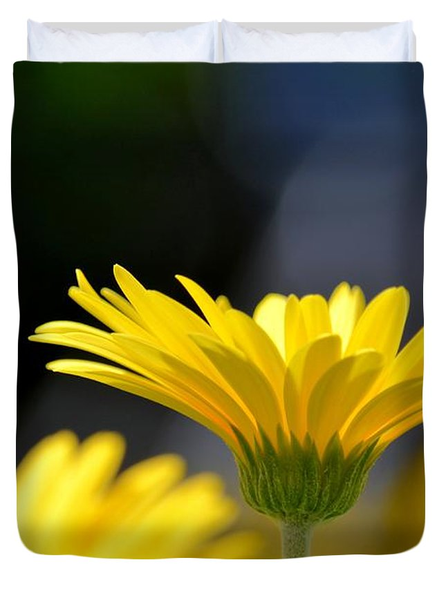 Standing Above The Rest Duvet Cover featuring the photograph Standing Above The Rest by Maria Urso