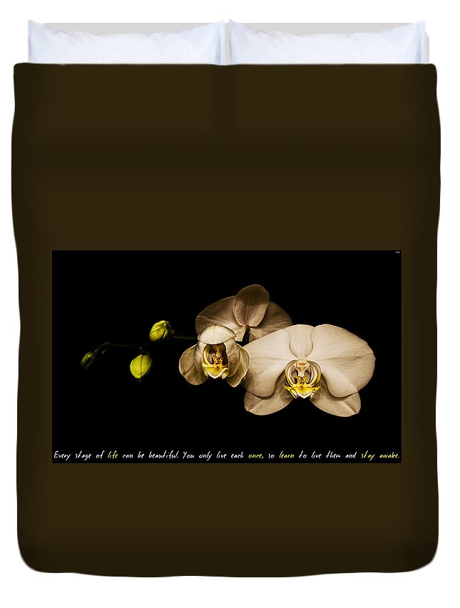 Stay Awake Duvet Cover featuring the photograph Stay Awake by Weston Westmoreland