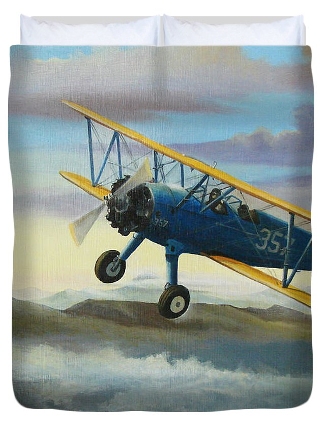 Radial Engine Duvet Covers