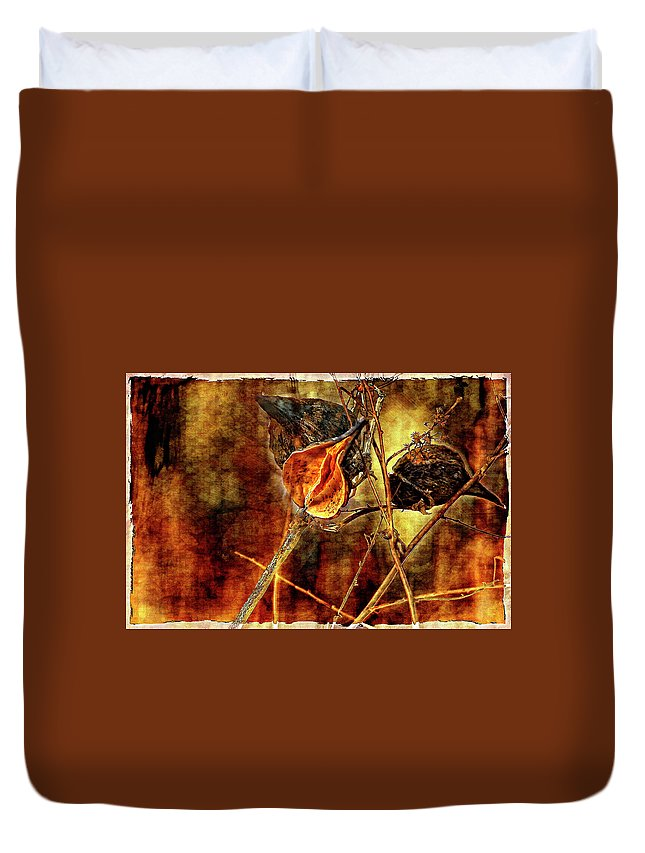 Weeds Duvet Cover featuring the photograph Still Life Study II by Steve Harrington