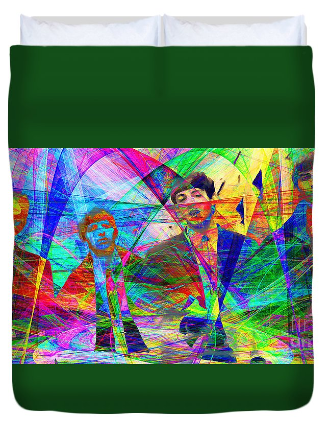 Wingsdomain Duvet Cover featuring the photograph Strawberry Fields Forever 20130615 by Wingsdomain Art and Photography