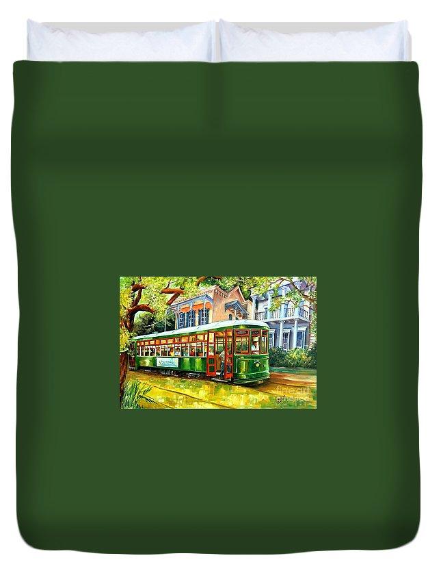 New Orleans Streetcar Duvet Covers